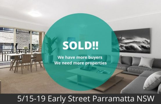 apartment sold to meet the vendor expectation